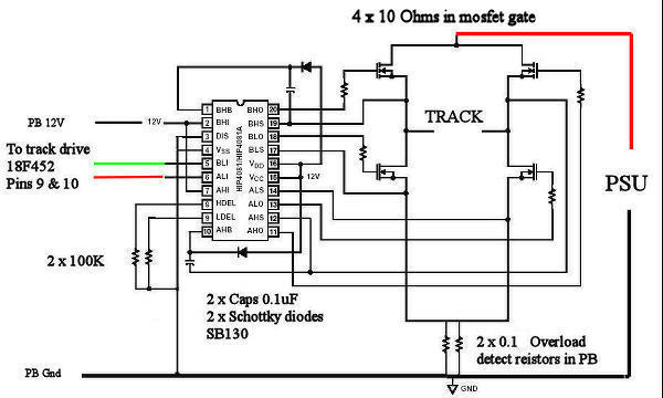 high power mosfet output stage - page 2 - scalextric digital  apb  arc pro