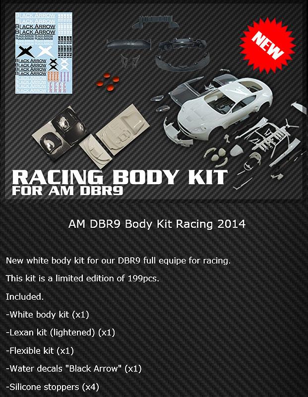 Racing DBR9 Body Kit Ref: BABC01D