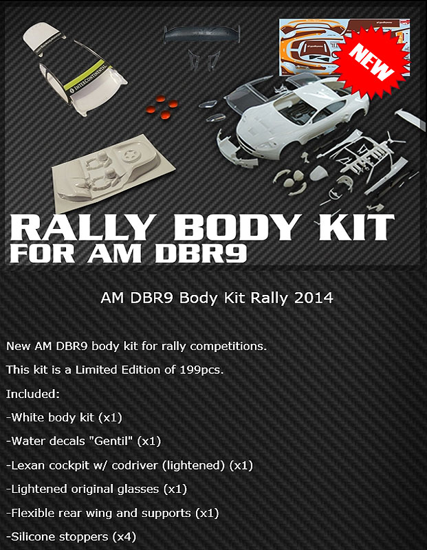 Rally DBR9 Body Kit Ref: BABC01C
