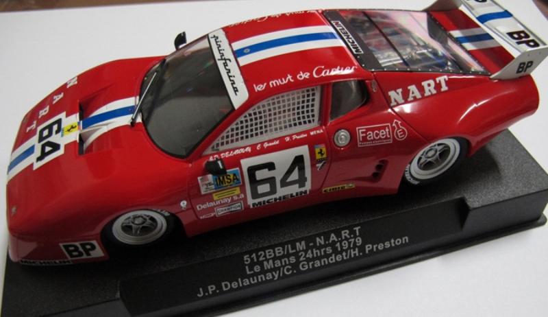 RCSW35 * SIDEWAYS Ferrari 512BB / LM NART 24h du Mans 1979