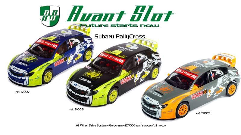 Avant Slot Subaru RallyCross