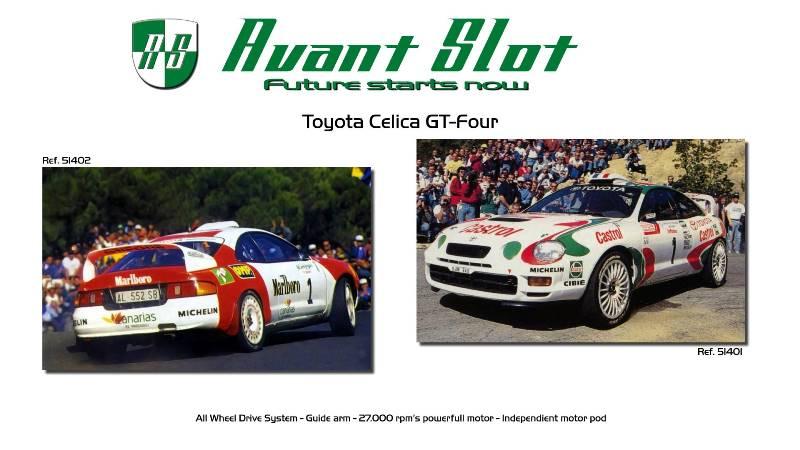 Avant Slot Toyota Celica GT Four