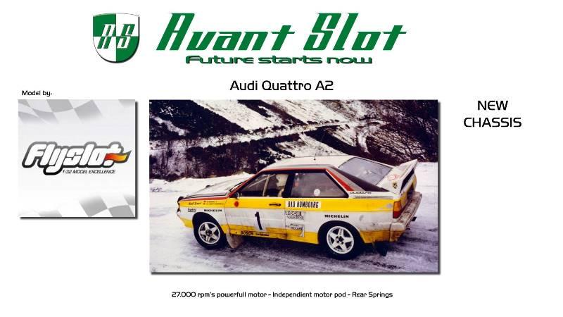 Avant Slot - Audi Quattro A2