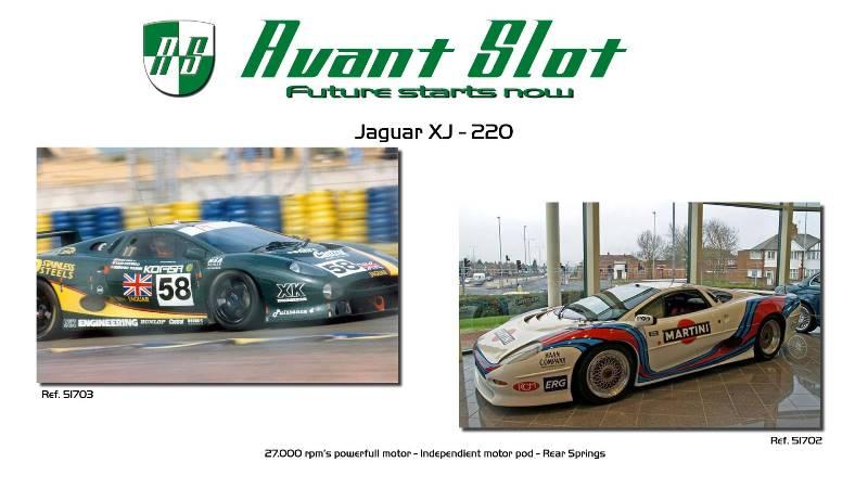Avant Slot la Jaguar XJ 220
