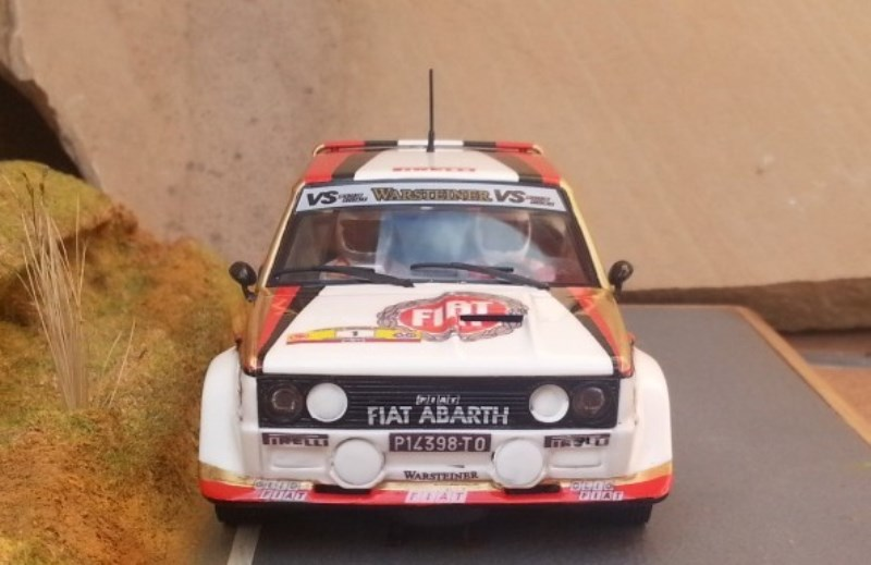 Scalextric Passion - Fiat 131 Abarth Hunsrück Rallye 1980 - SP018