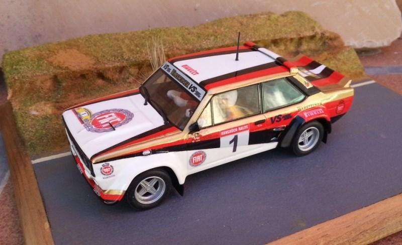 Scalextric Passion - Fiat 131 Abarth Hunsrück Rallye 1980 - SP018