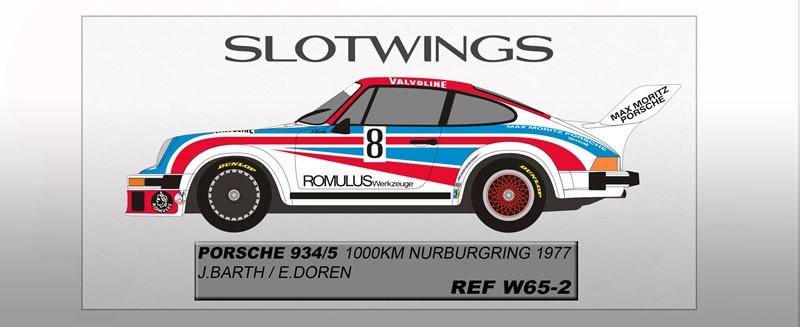 Porsche 934/5 - Nurburgring 1000km 1977 Barth/Doren Ref: SLW065-02