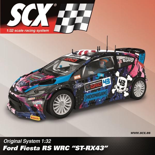 SCX Ford Fiesta RS WRC St-RX43