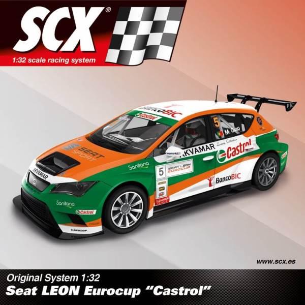"""SCX SEAT Leon  """"Castrol"""" Ref; A10205"""