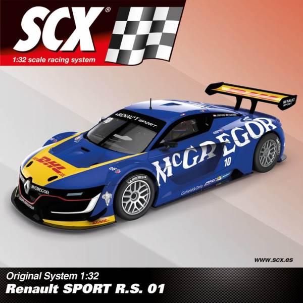 SCX Renault SPORT R.S. 01 Ref; A10210