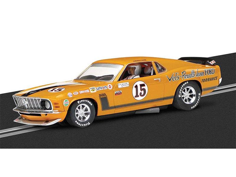 Ford Mustang Boss 302 - 1969 Trans-Am Championship, Parnelli Jones C3651