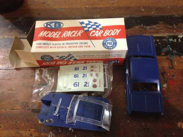 K&B Aurora Pontiac GTO Body - Purple -1:32 - Slotcar Parts
