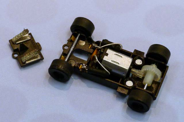 150mm Micro Scalextric 1:64 short straight Track    4 x 6 inch