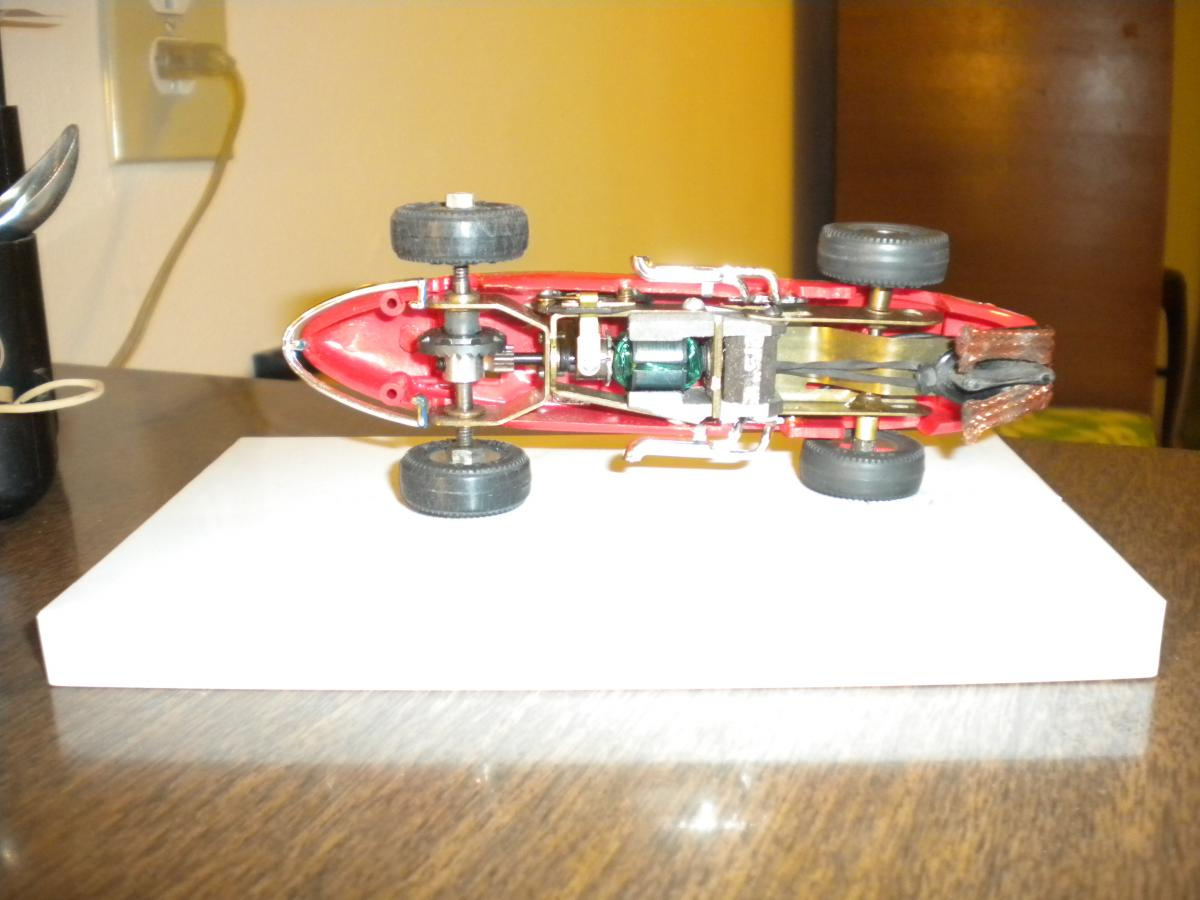 Vintage Airfix//MRRC BP slot car Trackside chronométreur Hut Decal Transfer sheet