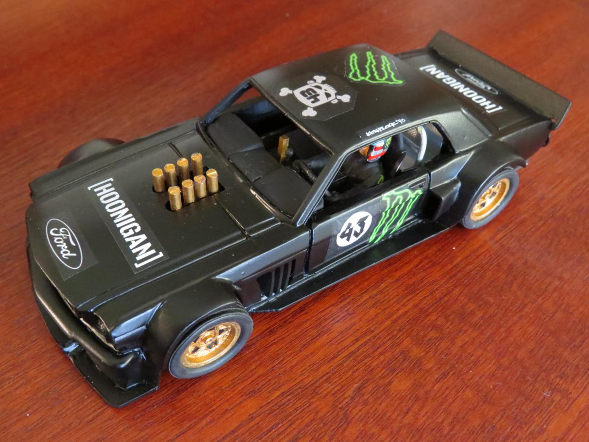 Hoonigan Mustang Top Gear